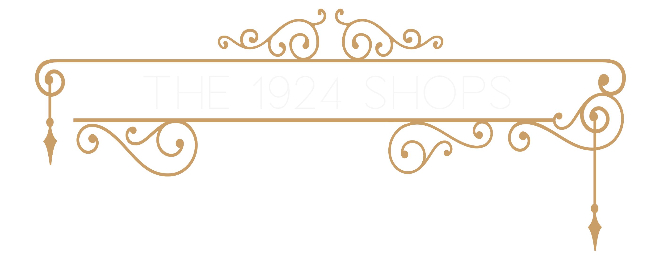 1924 shops sign