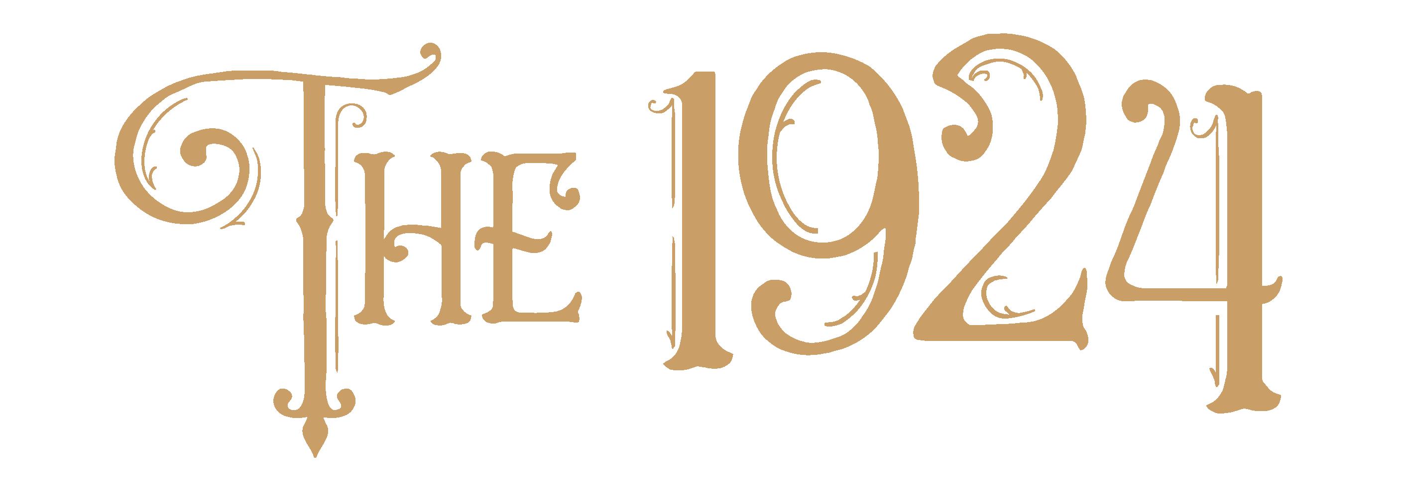 The 1924 gold logo-01