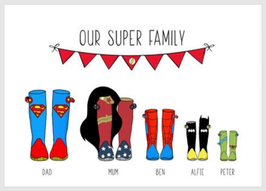 Super Family Picture